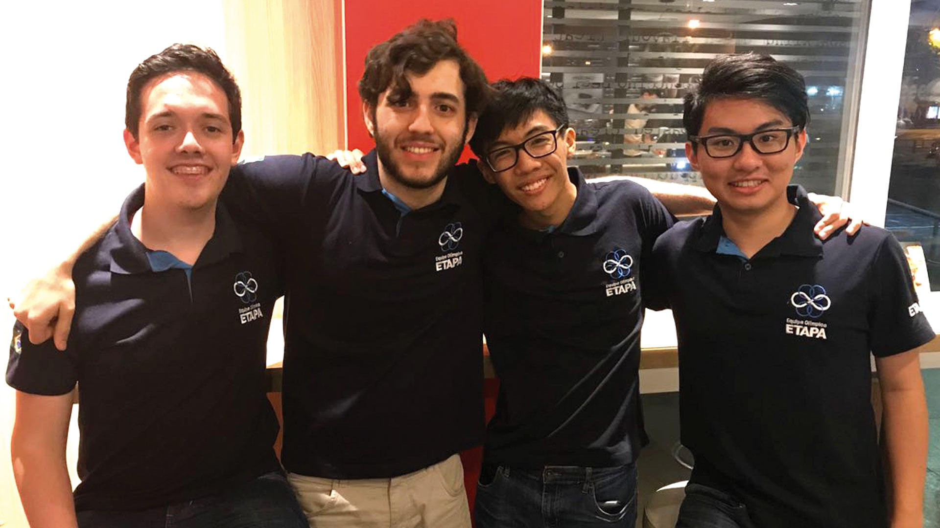 Equipe brasileira na IMO 2018