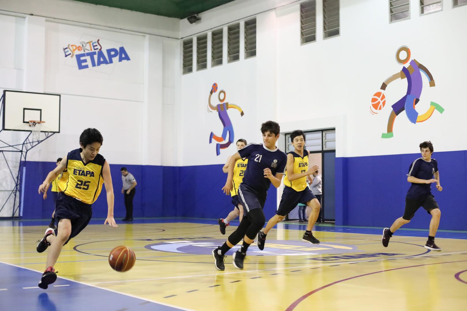 Basquete foi uma das modalidades da Copa Etapa 2018.