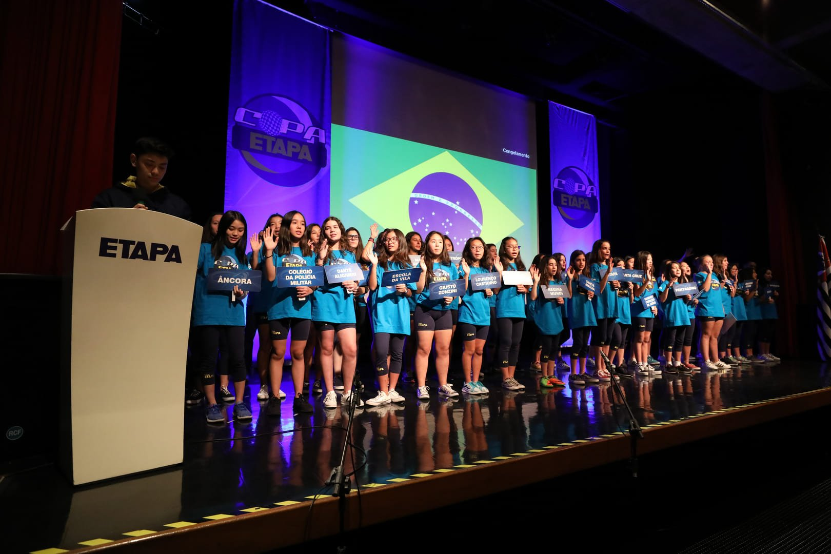 Copa Etapa 2018 reuniu 37 colégios da Grande São Paulo para competição esportiva.