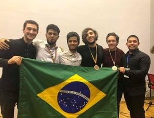 Resultados do Etapa em competições estudantis: alunos do Colégio conquistam bronze na RMM.