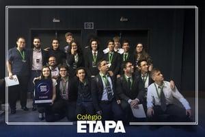 Resultados do Etapa em competições estudantis: alunos do Colégio conquistam 4 medalhas no IYPT Brasil.