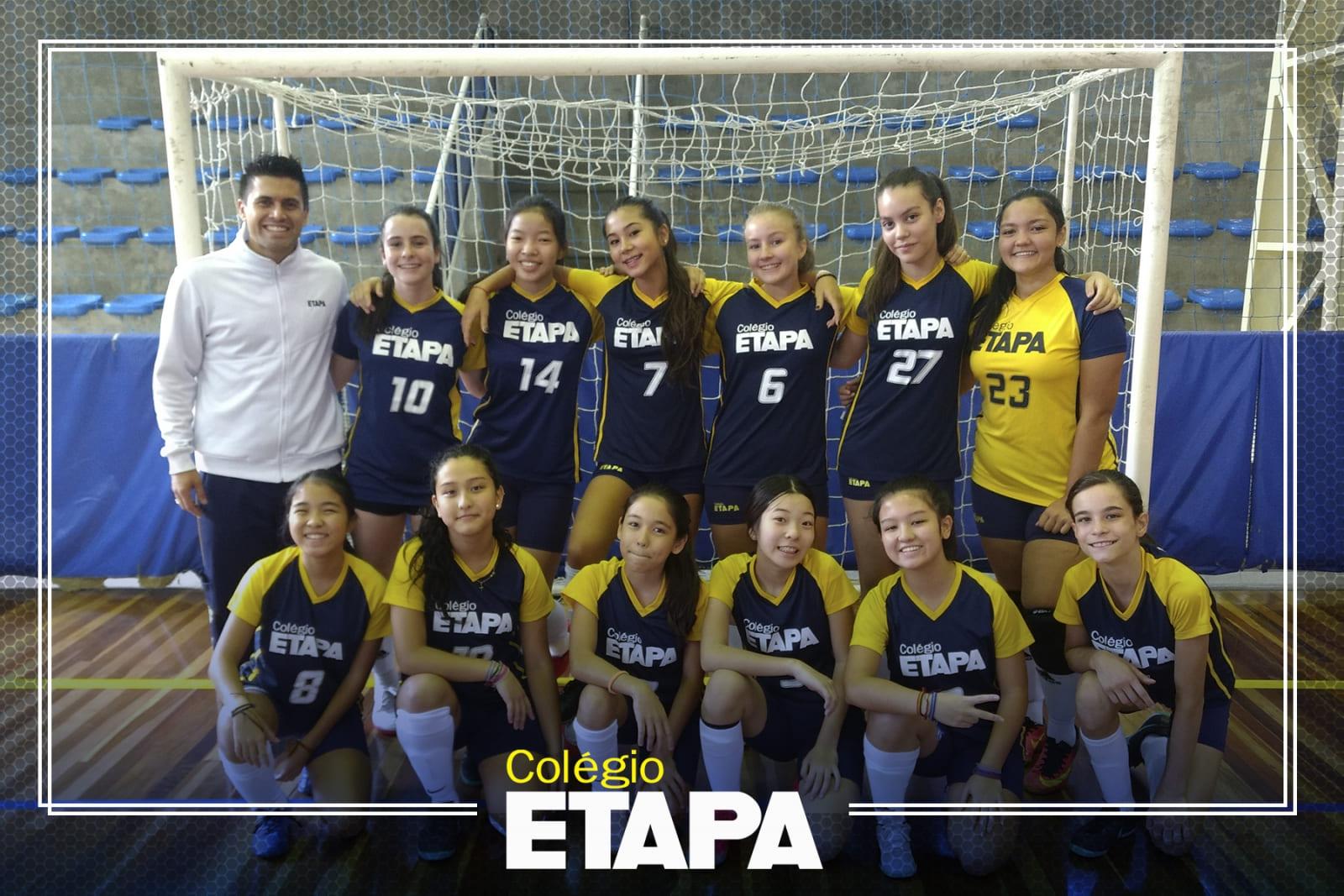 Esportes no Colégio Etapa_ fique por dentro do que ocorreu no mês de março