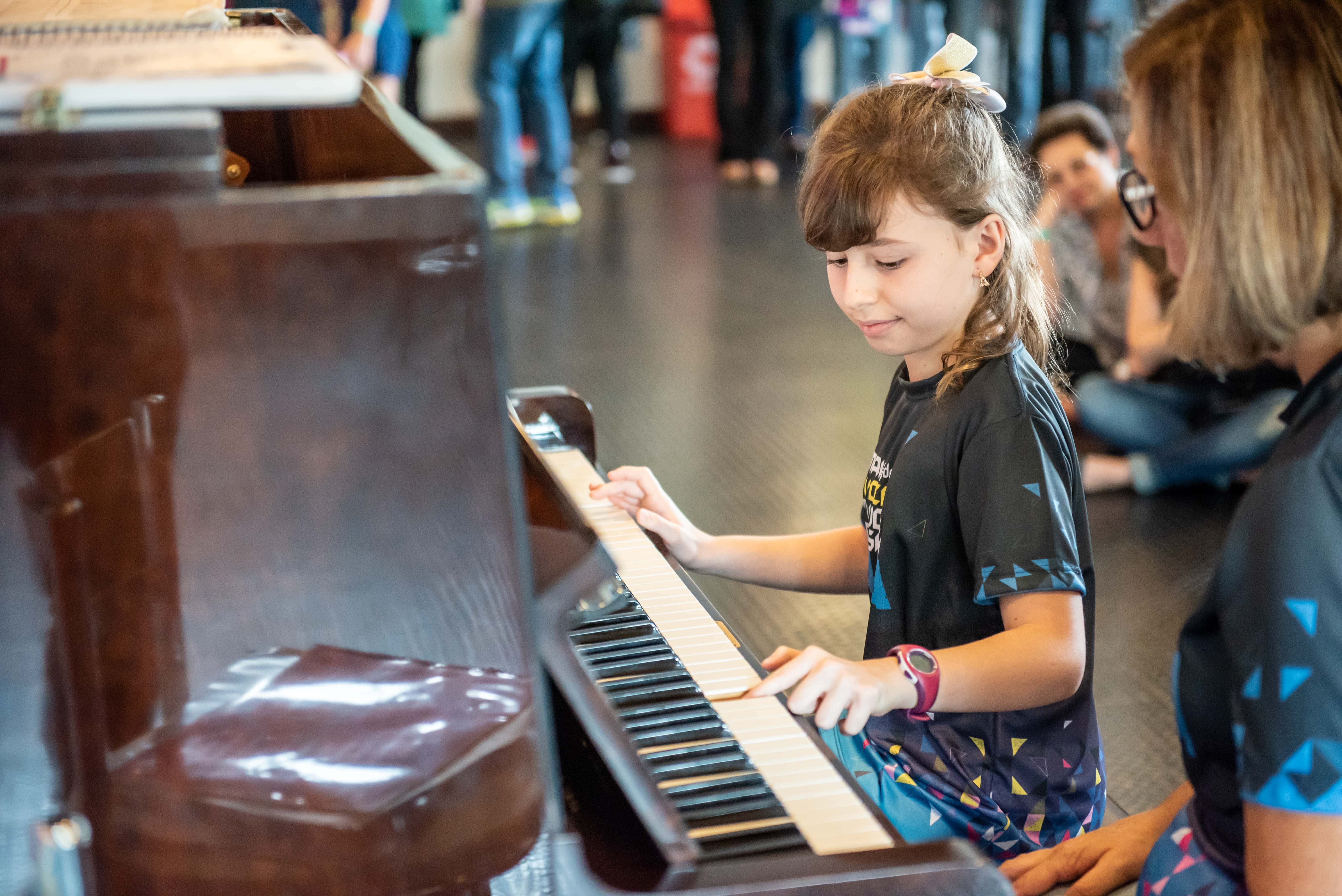 Recital de Piano na Multi Expo Valinhos