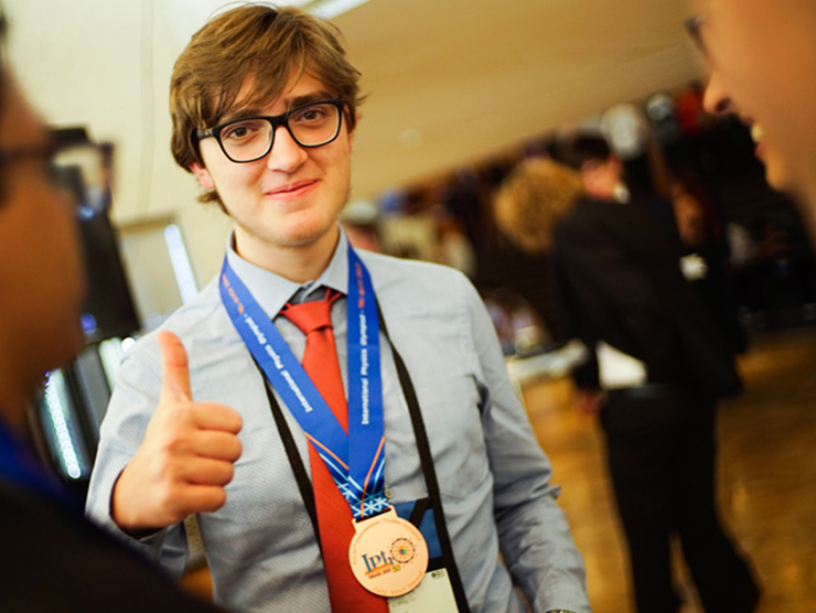 Gabriel Guerra Trigo já conquistou mais de 20 medalhas em competições estudantis.