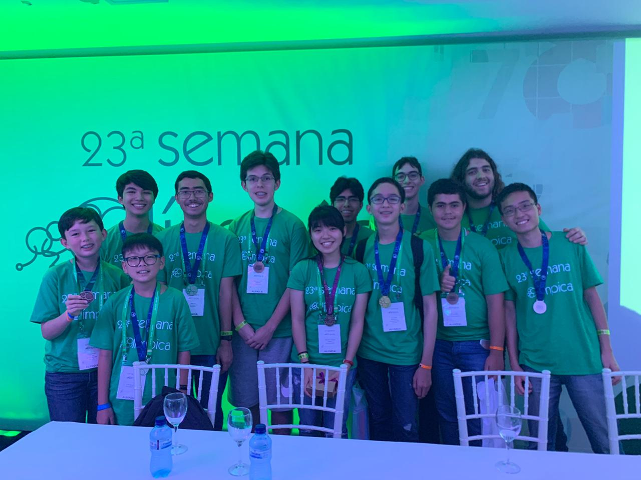 A Olimpíada Brasileira de Matemática contou com a participação de 1.500 estudantes.