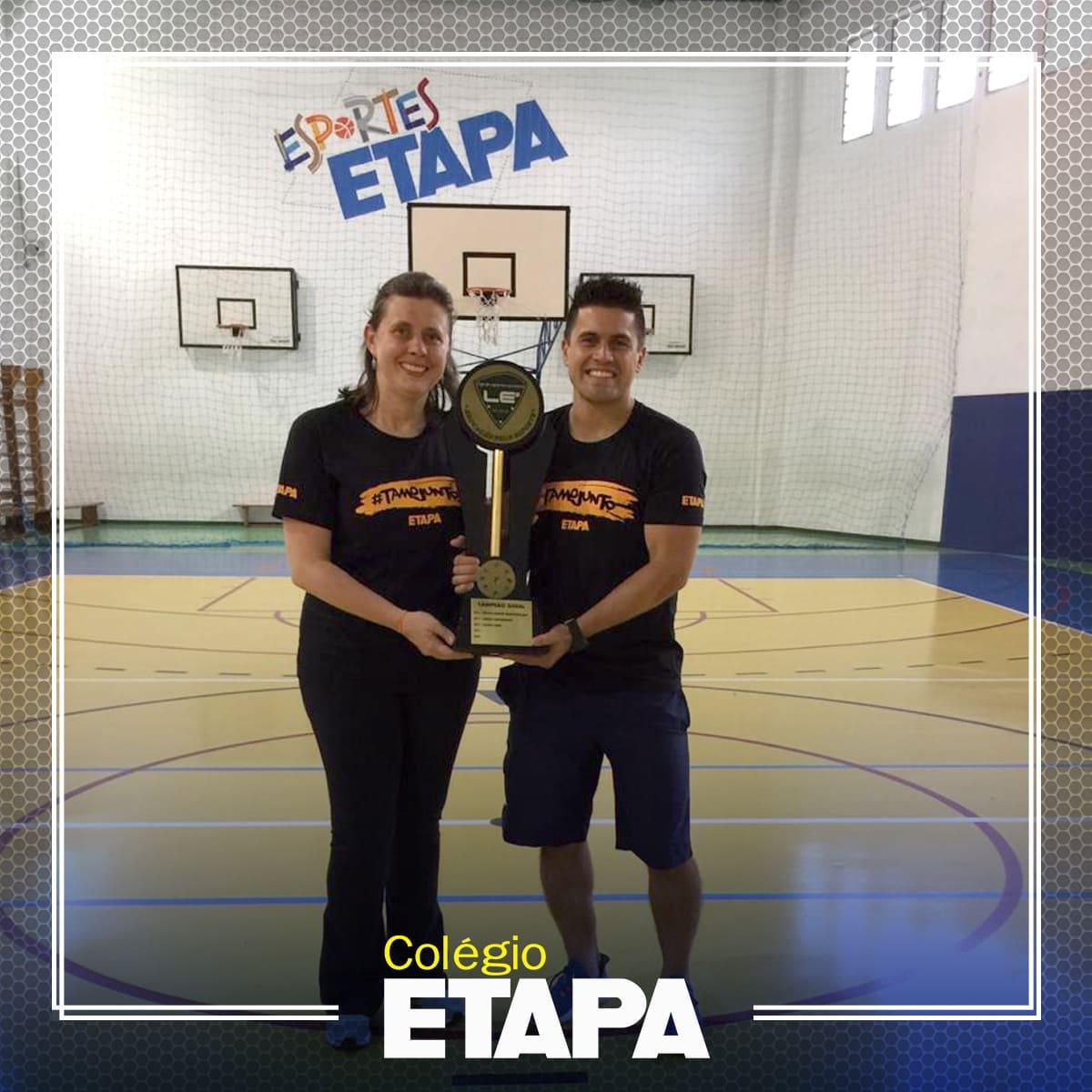 Colégio Etapa é campeão da Liga de Esportes Escolares LE2