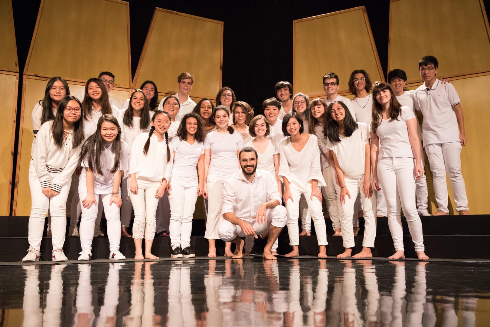 """Coral Etapa encerra o semestre com a apresentação do concerto """"Nos Sumus In Mundo"""""""