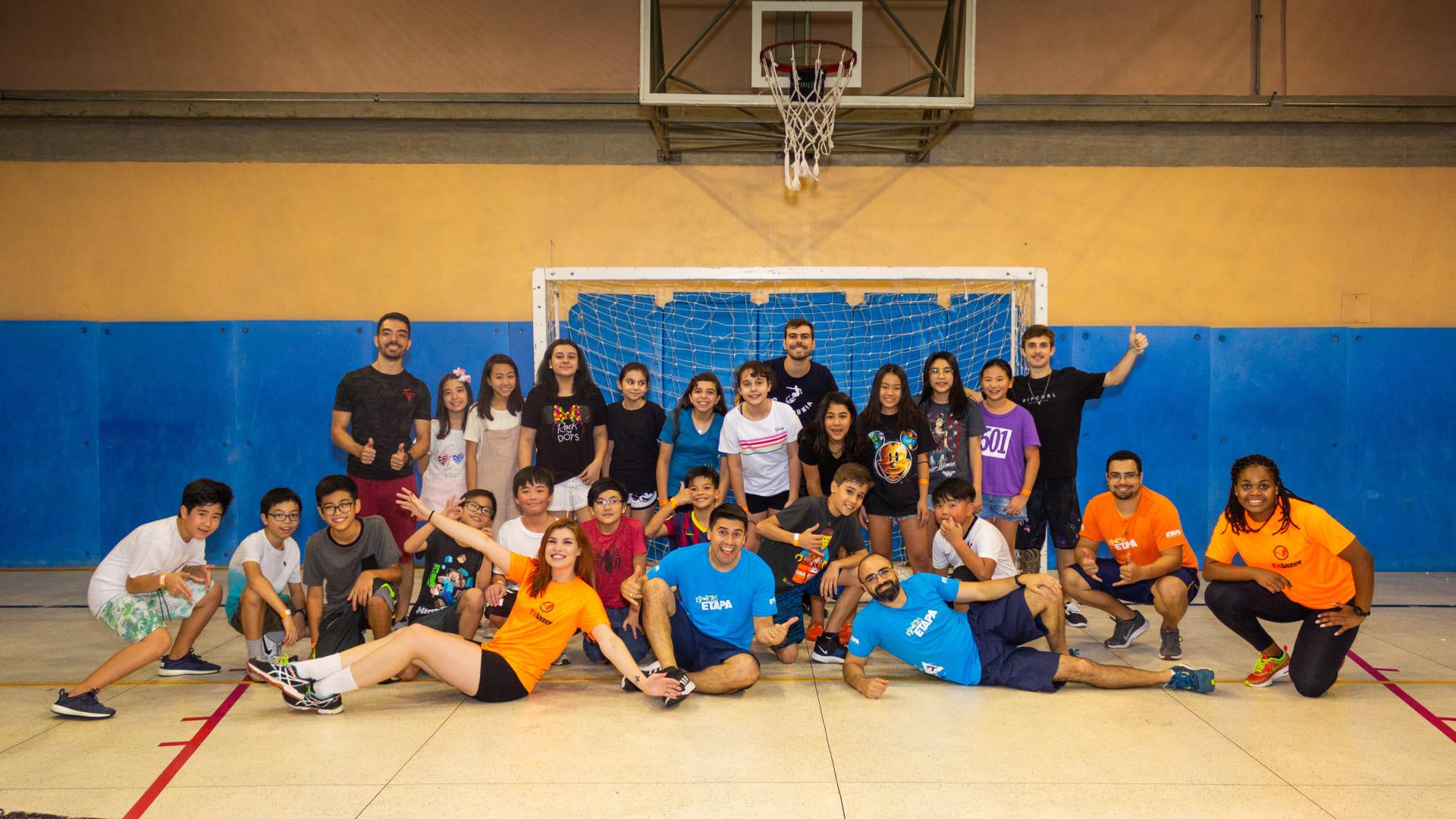 Alunos do Colégio Etapa São Paulo participam do Acampadentro
