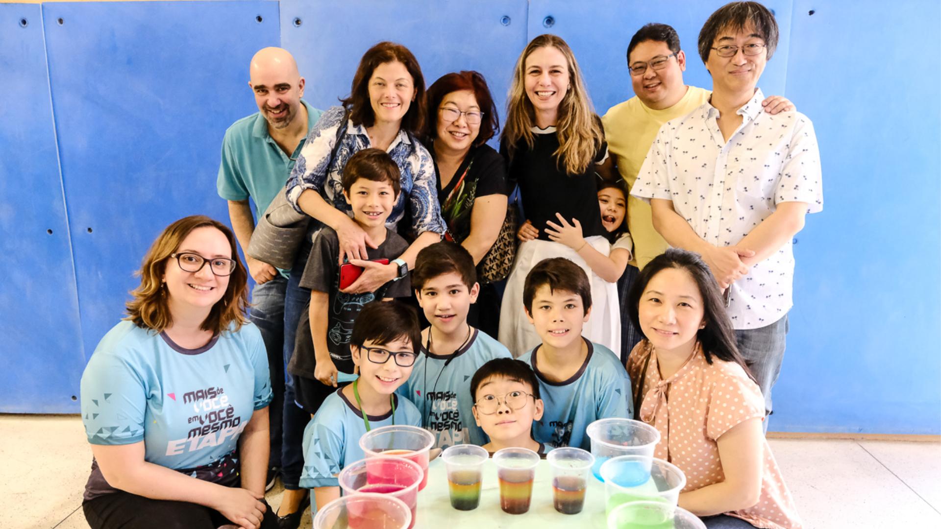 II Oficina Cultural reúne pais e alunos em São Paulo