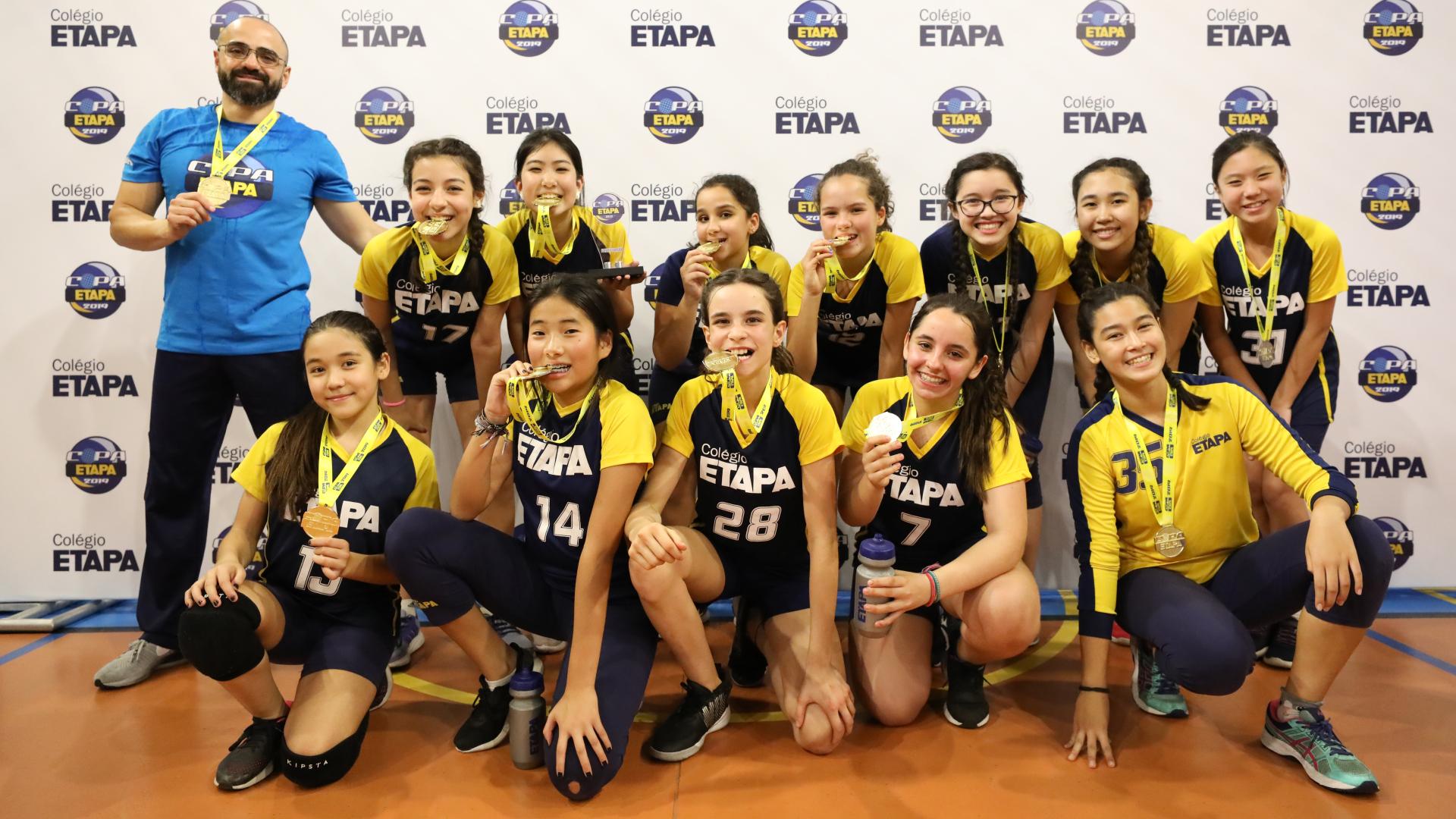 III Copa Etapa São Paulo reúne escolas da Grande São Paulo