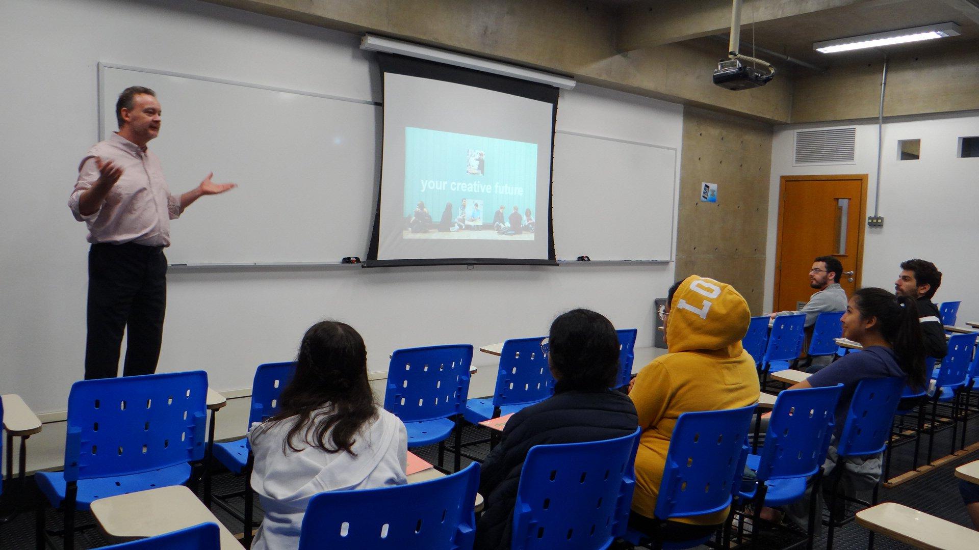 Etapa recebe 21 instituições internacionais de ensino
