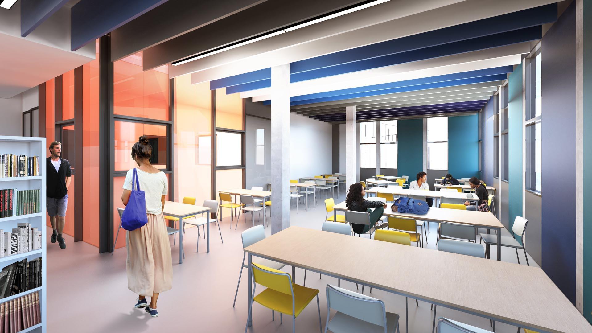Biblioteca - Nova unidade do Colégio Etapa