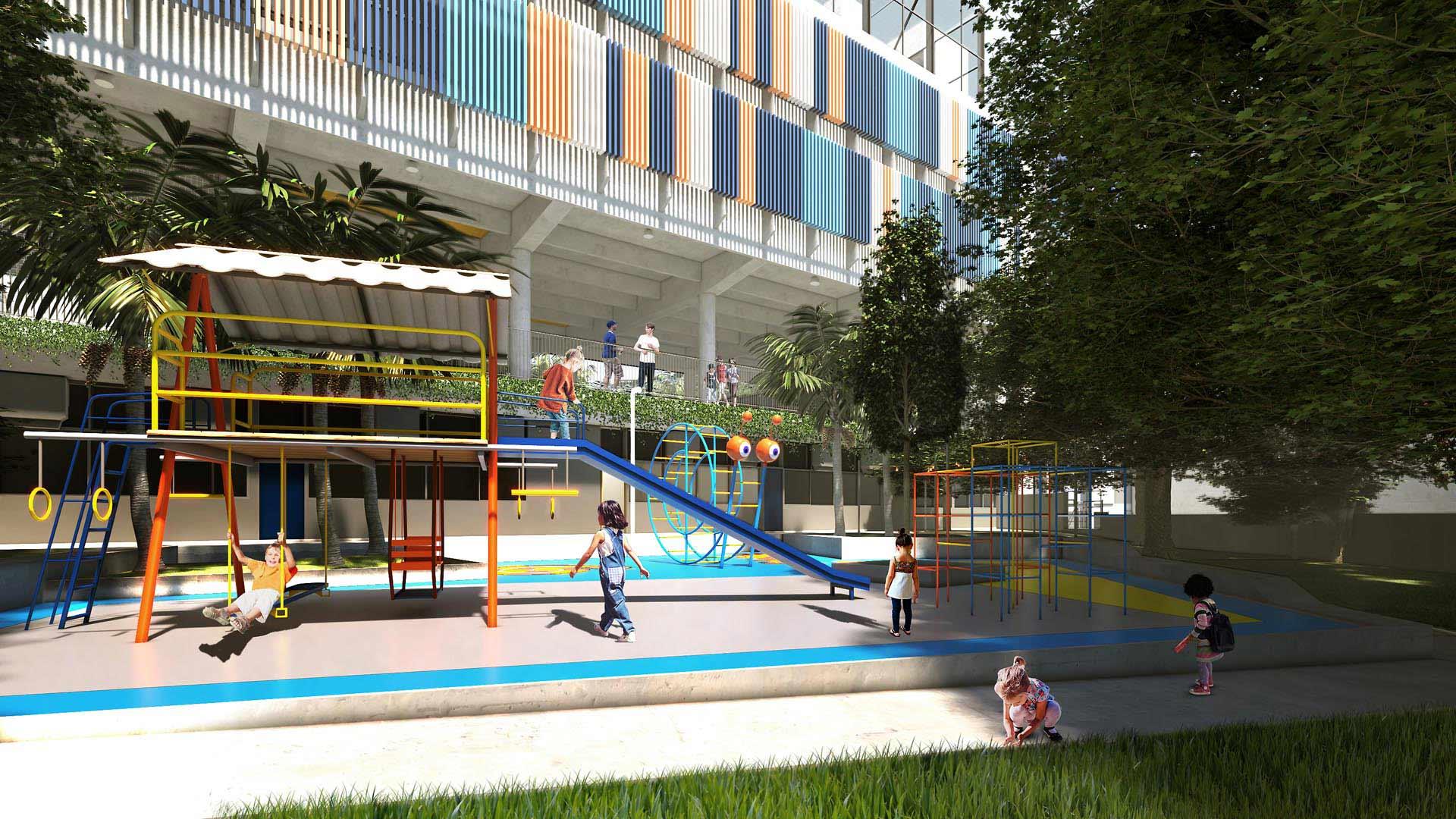 Bosque Infantil  - Nova unidade do Colégio Etapa