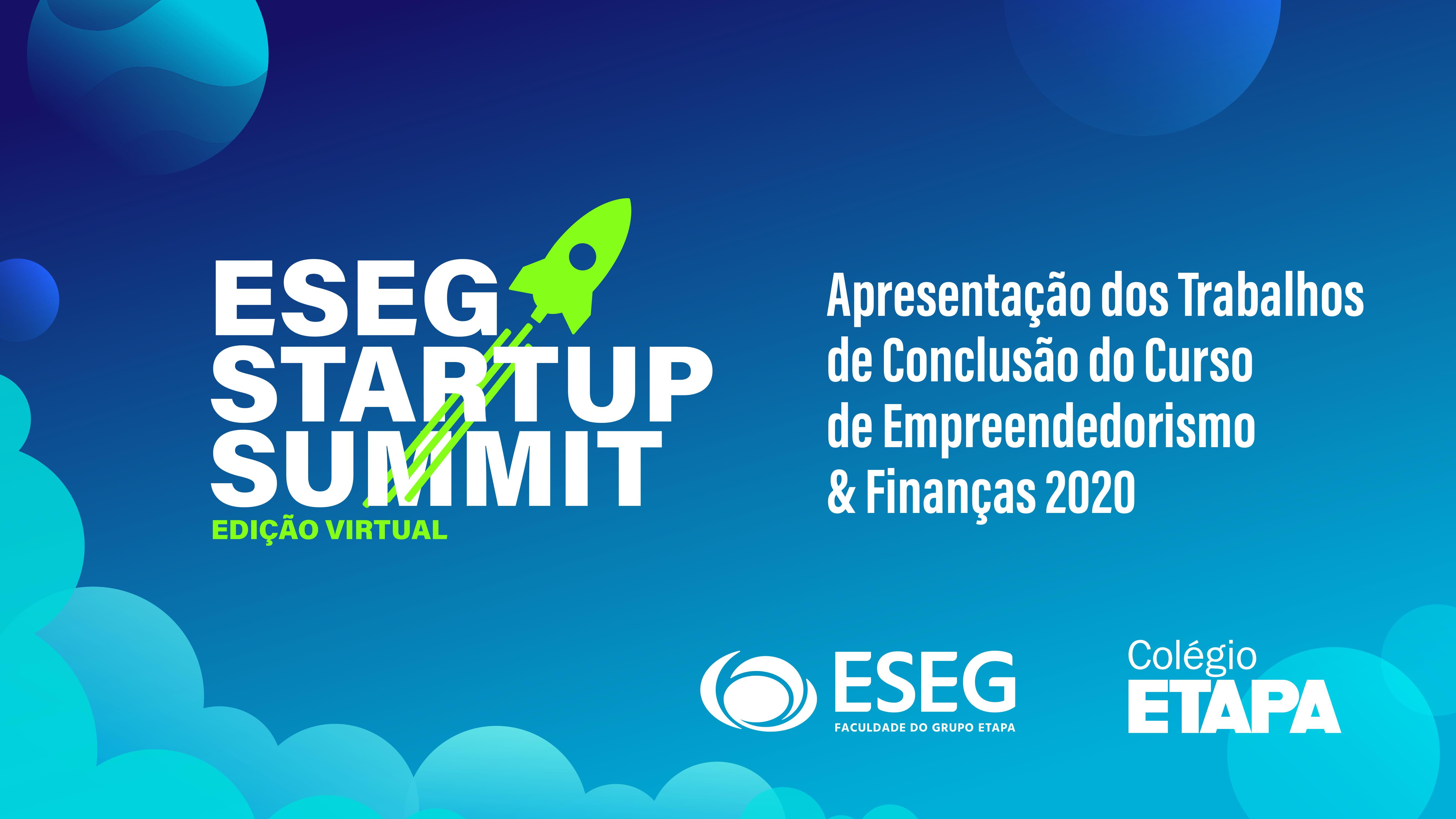 Durante o ESEG Startup Summit, uma banca julgadora avaliou os projetos dos alunos e premiou o melhor empreendimento.