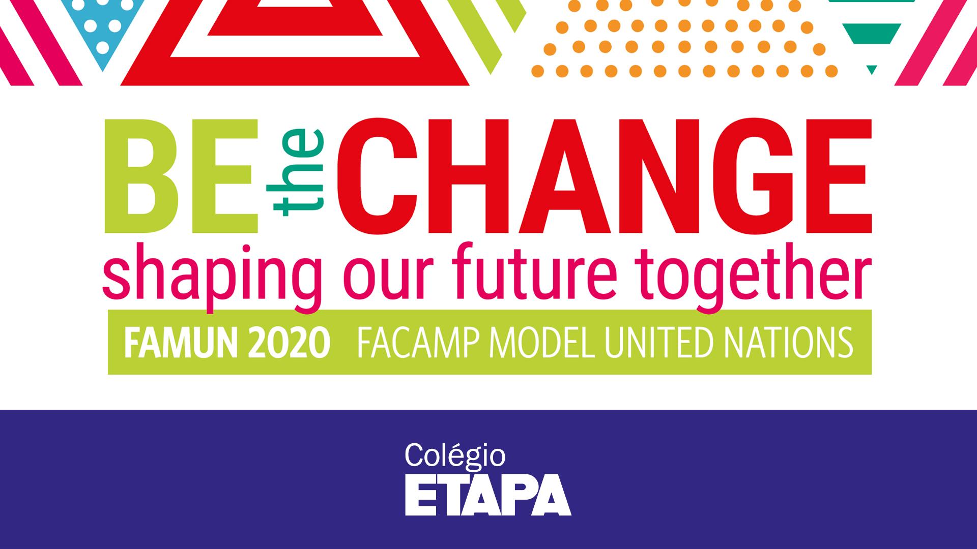 Alunos do Colégio Etapa são destaque no FAMUN 2020