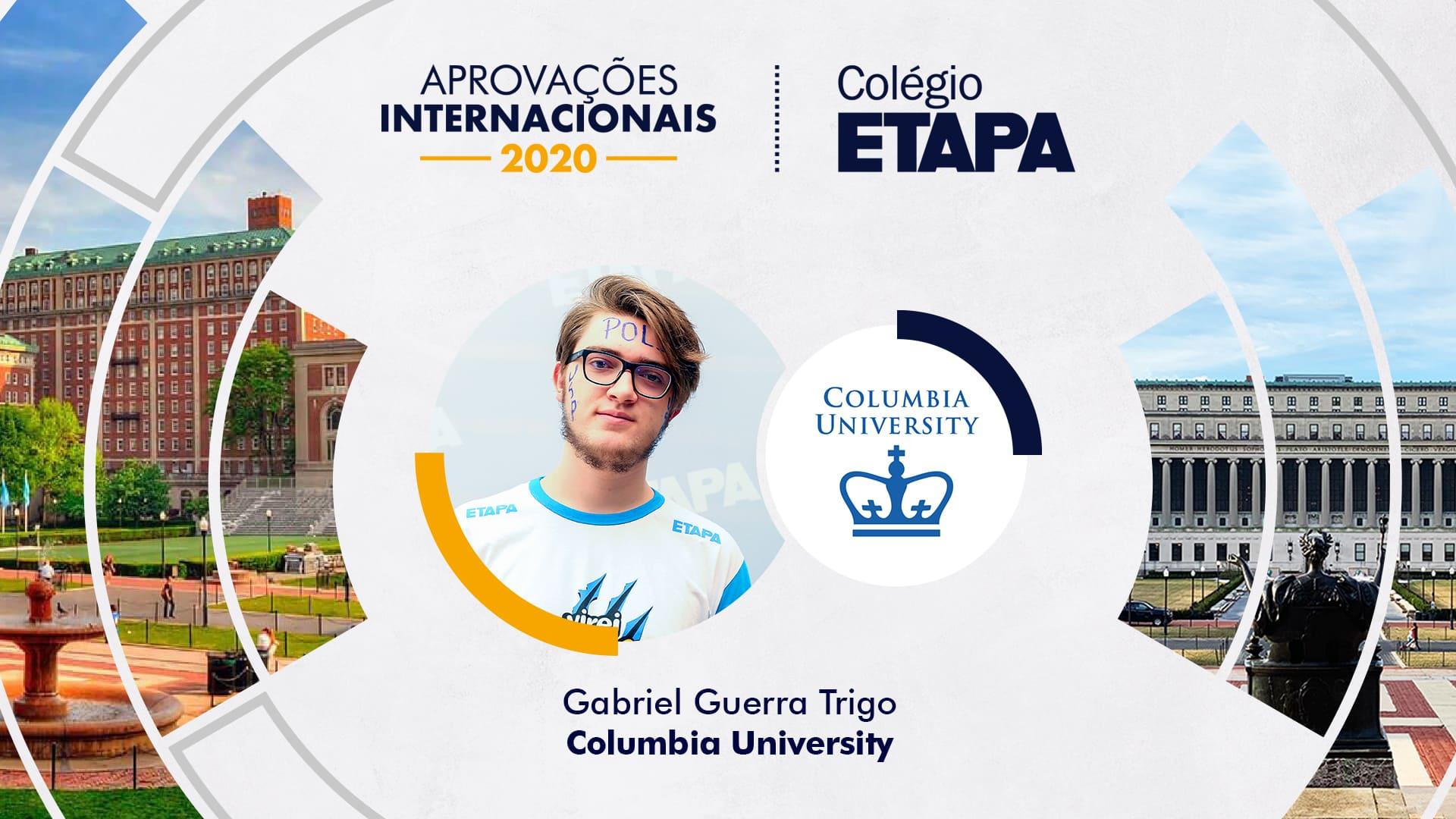 Gabriel Guerra Trigo já conquistou mais de 20 medalhas em importantes competições estudantis.