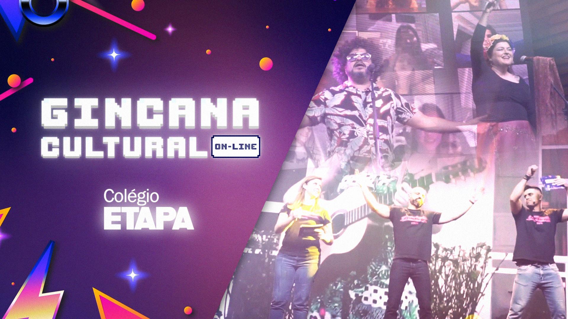 A Gincana Cultural 2020 promoveu uma série de dinâmicas para estimular a participação dos espectadores da live. Confira as novidades do evento!