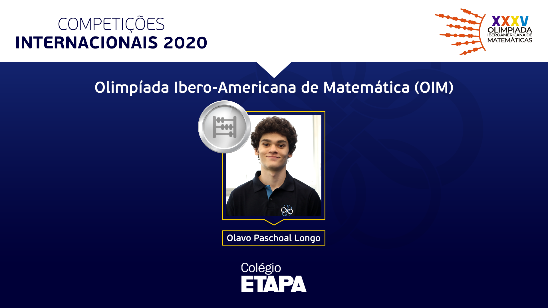 A Olimpíada Ibero-Americana de Matemática 2020 contou com a participação de 84 estudantes de 23 países.