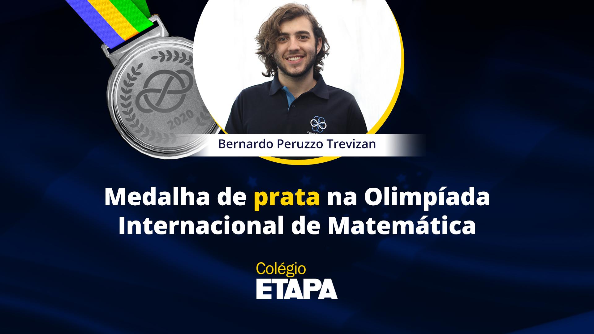 Aluno do Etapa é premiado na Olimpíada Internacional de Matemática
