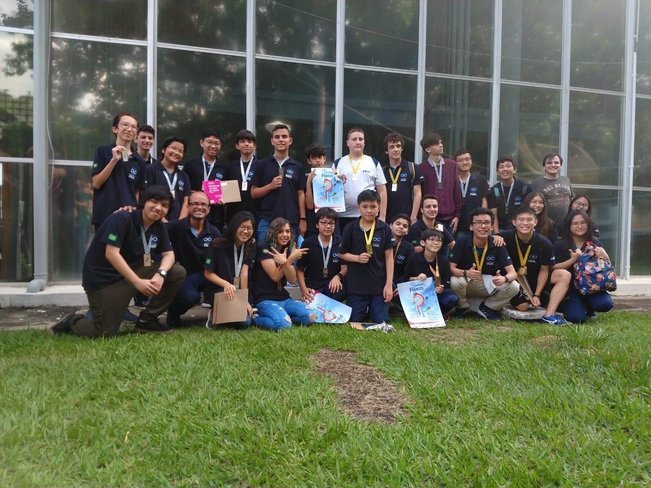 Alunos são premiados na Olimpíada Paulista de Física 2019