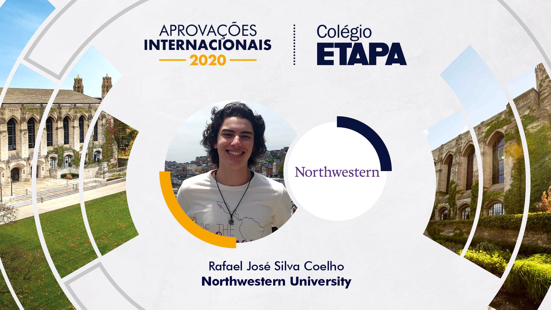 Aprovações Internacionais 2020: Rafael José Silva Coelho
