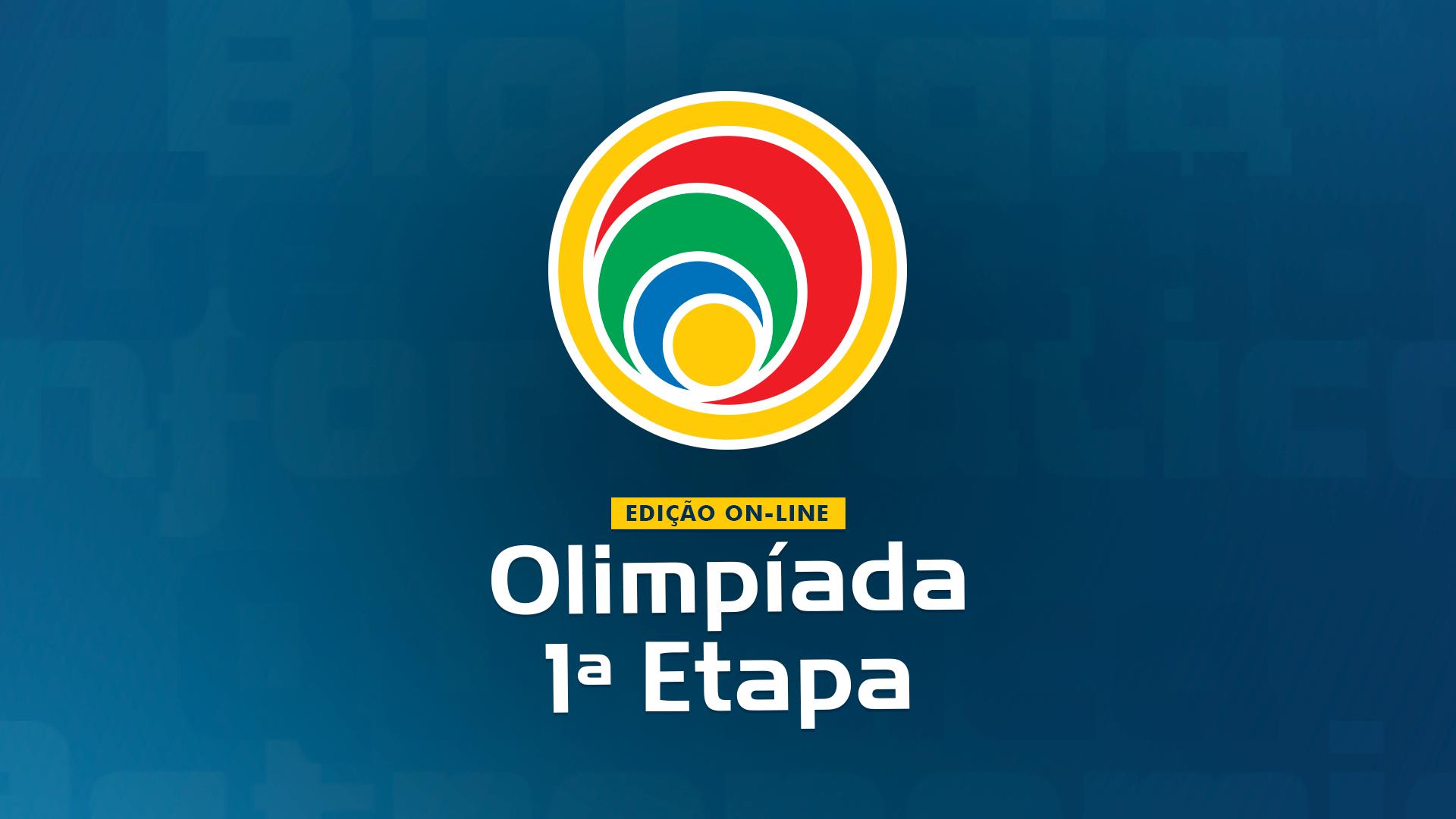 A edição on-line da Olimpíada 1ª Etapa ocorreu entre os dias 16 e 30 de setembro.