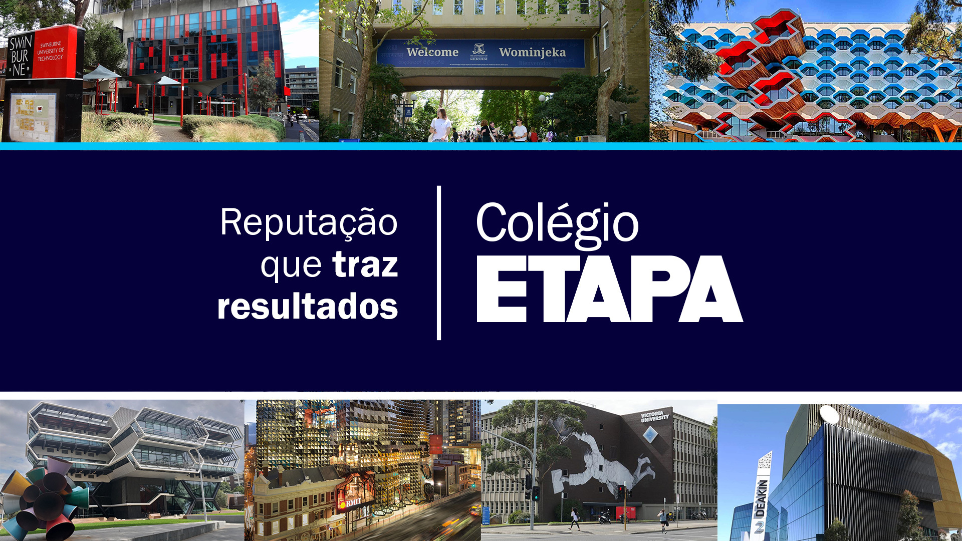Orientadores educacionais do Etapa visitam universidades na Austrália