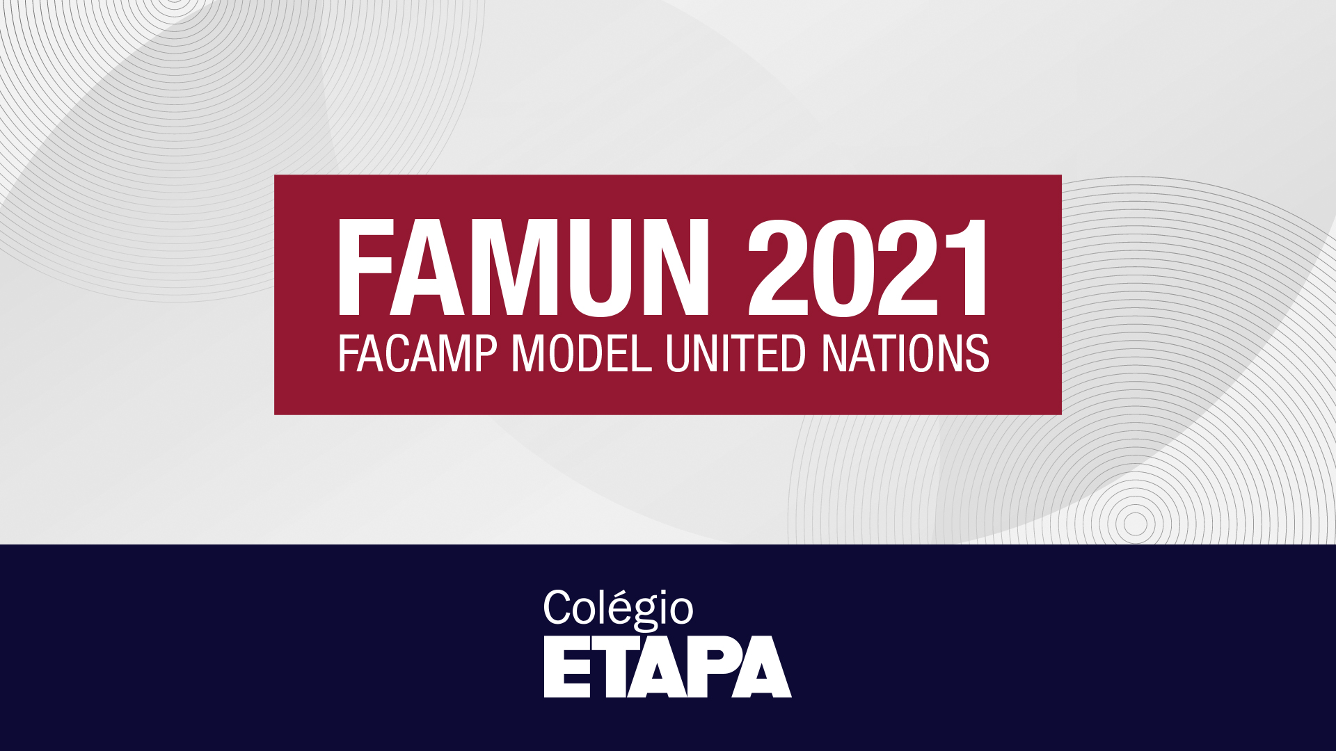 Alunos do Etapa são premiados durante o FAMUN 2021