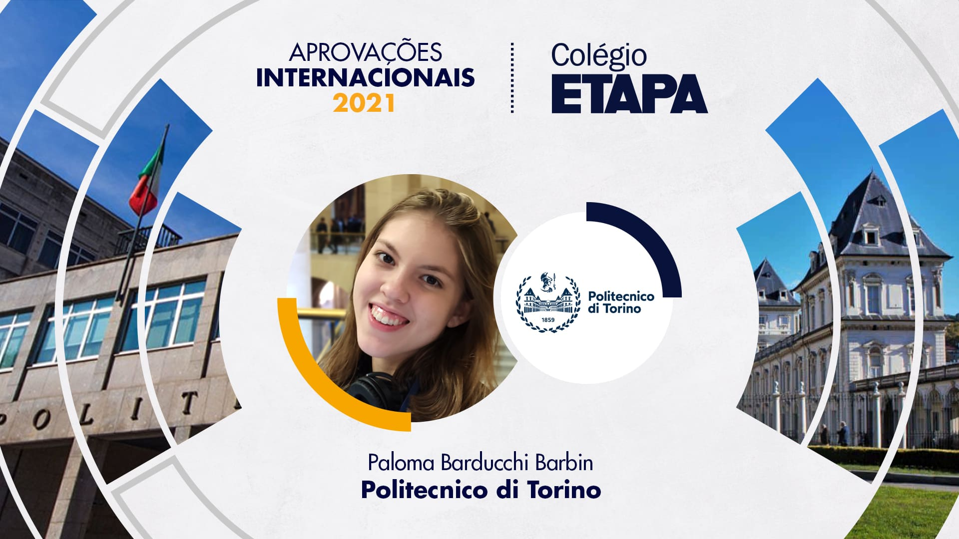 Aprovações Internacionais 2021: Paloma Barduchi Barbin