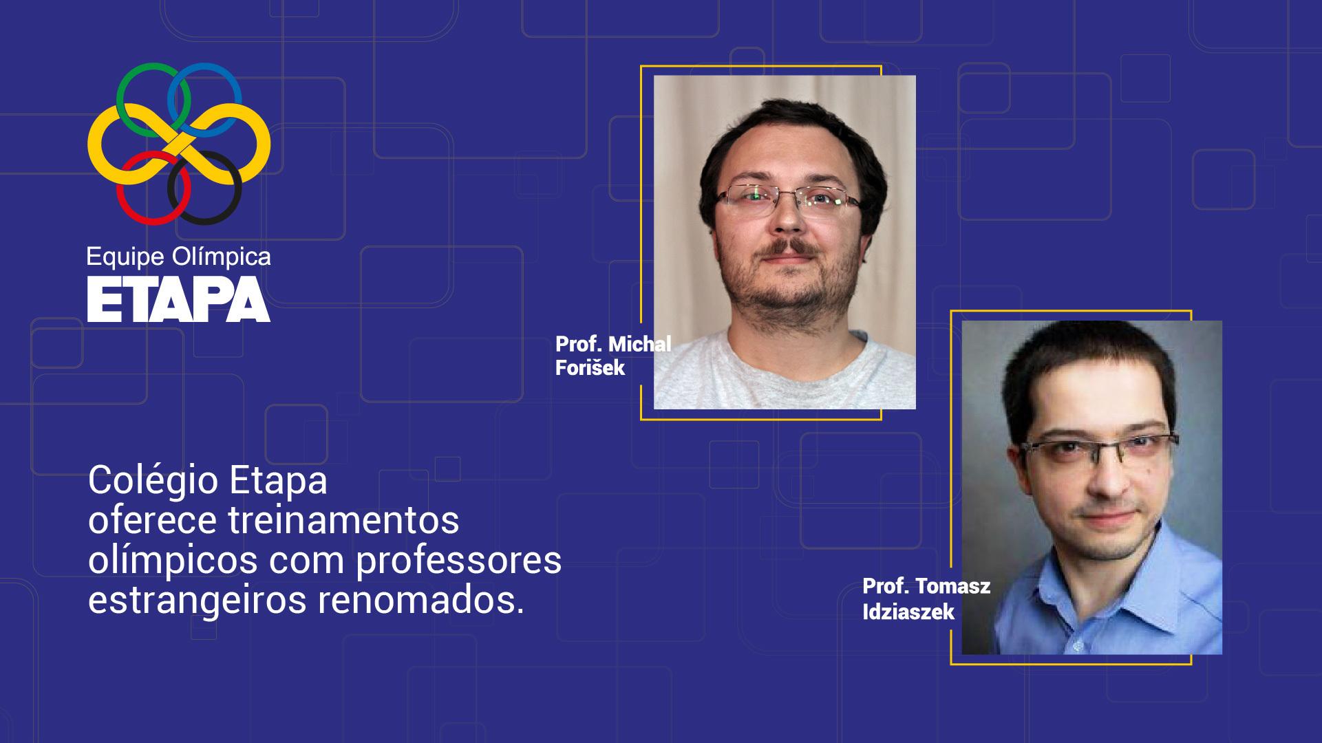 Treinamentos de Informática com docentes estrangeiros no Colégio Etapa